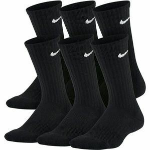 Women's Nike Crew Socks 6 Pairs, 9_12 Shoe Size